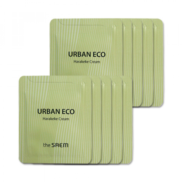 [THESAEM_Sample] Urban Eco Harakeke Cream Samples - 10pcs