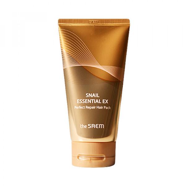 [THESAEM_Sample] Snail Essential Ex Perfect Repair Hair Pack Sample - 150ml