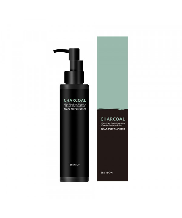 [TheYEON] Chacoal Black Deep Cleanser - 150ml