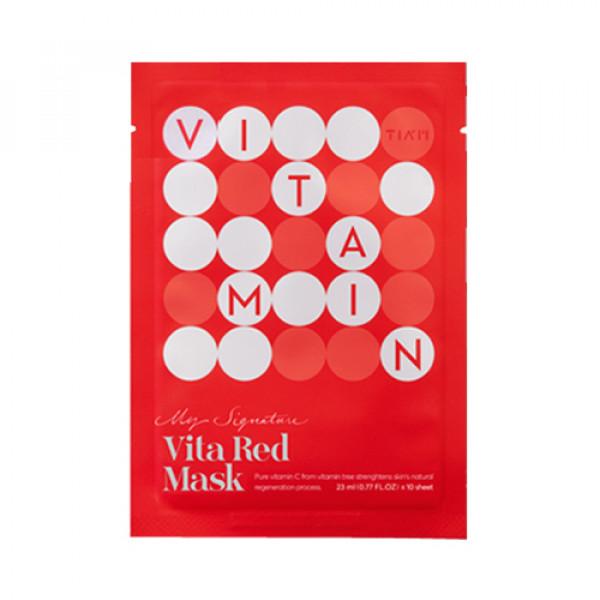 [TIA'M] My Signature Vita Red Mask - 1pcs