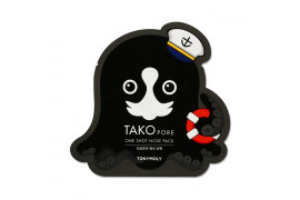 W-[TONYMOLY] Takopore One Shot Nose Pack - 1pcs x 10ea