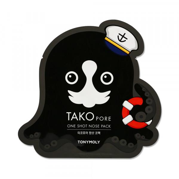 [TONYMOLY] Takopore One Shot Nose Pack - 1pcs