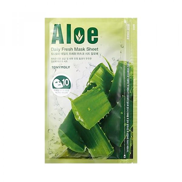[TONYMOLY] Daily Fresh Mask Sheet Aloe - 1pack (10pcs)