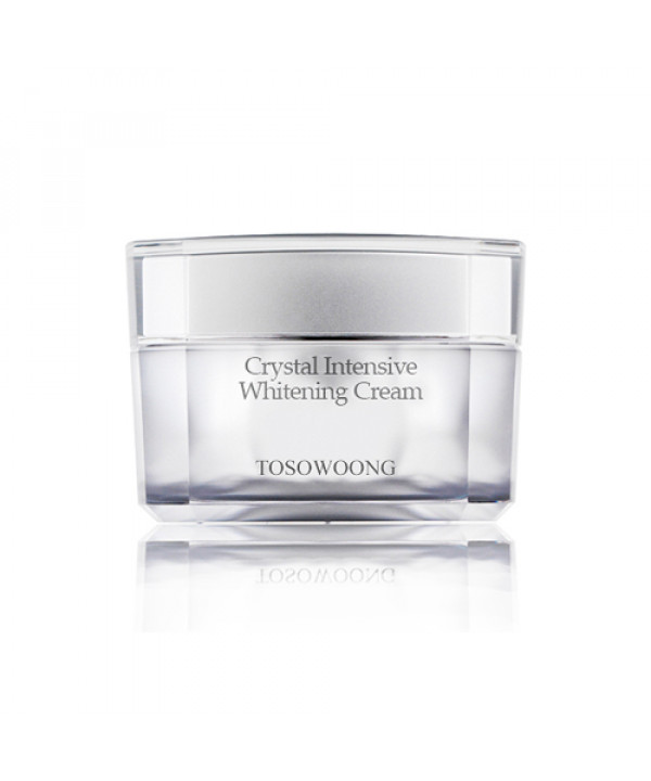[TOSOWOONG_LIMITED] Crystal Intensive Whitening Cream - 50g (Flawed Box)