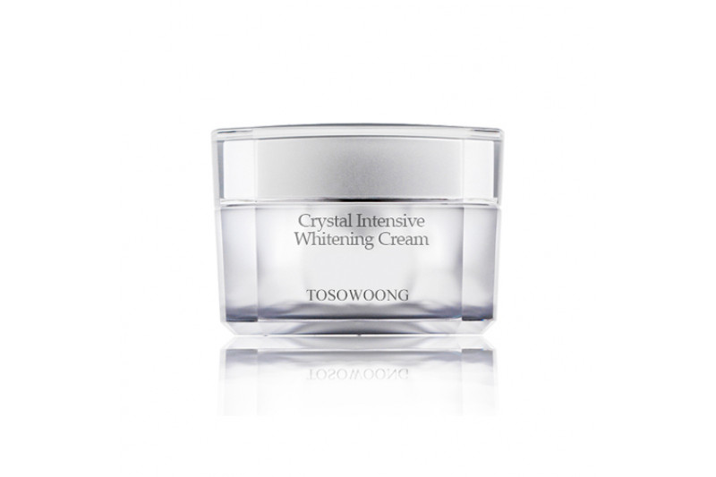 W-[TOSOWOONG] Crystal Intensive Whitening Cream - 50g x 10ea