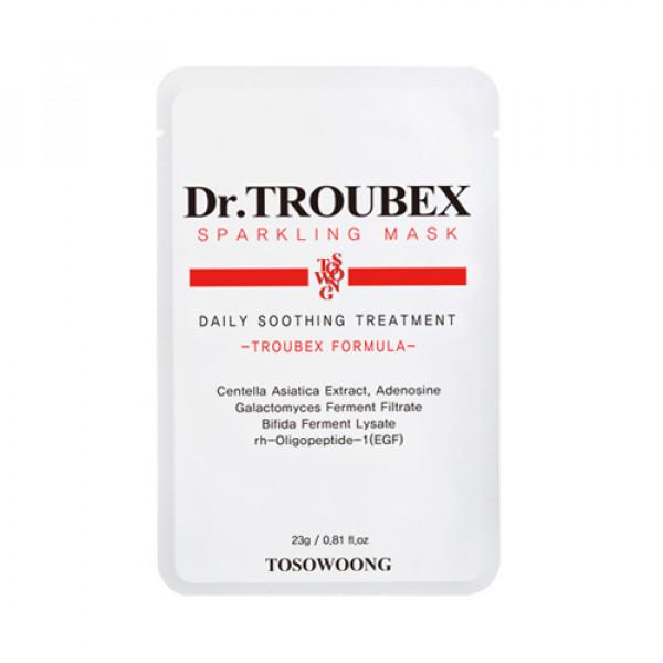 [TOSOWOONG] Dr.Troubex Sparkling Mask - 10pcs