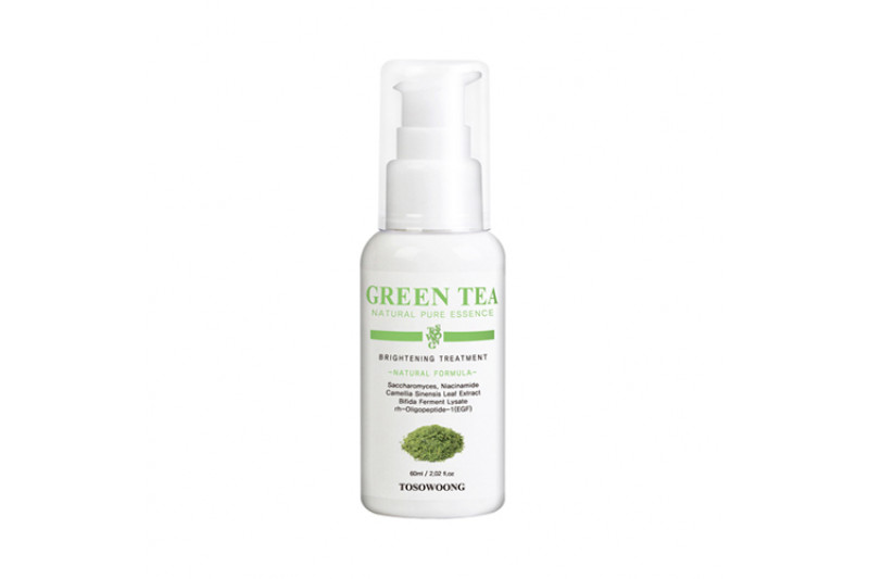[TOSOWOONG] Green Tea Natural Pure Essence - 60ml
