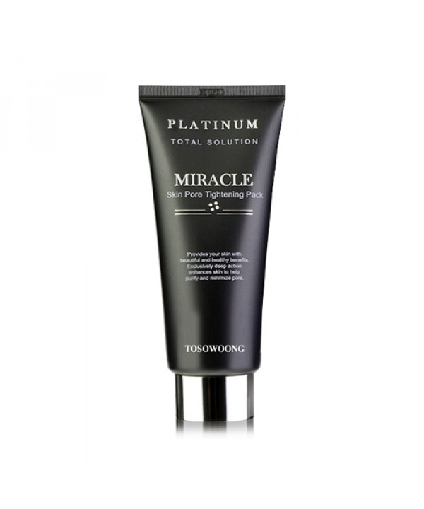[TOSOWOONG] Platinum Total Solution Miracle Skin Pore Tightening Pack - 150g (EXP 2021.07.22)