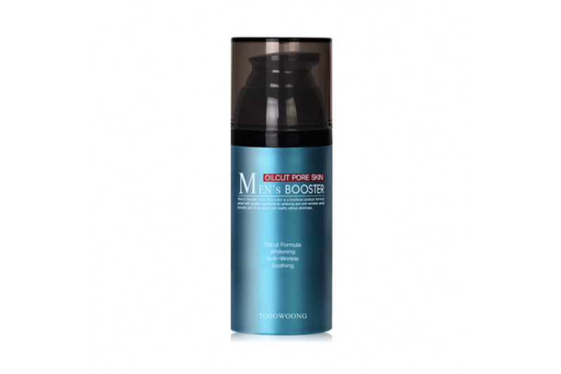 W-[TOSOWOONG] Men's Booster Oilcut Pore Skin - 110ml x 10ea