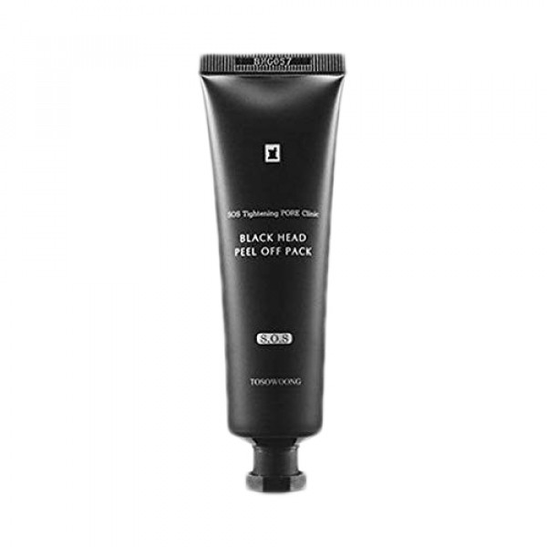 [TOSOWOONG] Pore Clinic Black Head Peel Off Pack - 50g