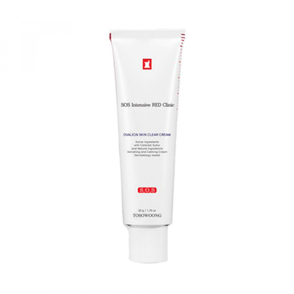 [TOSOWOONG] Red Clinic Ovalicin Skin Clear Cream - 50g