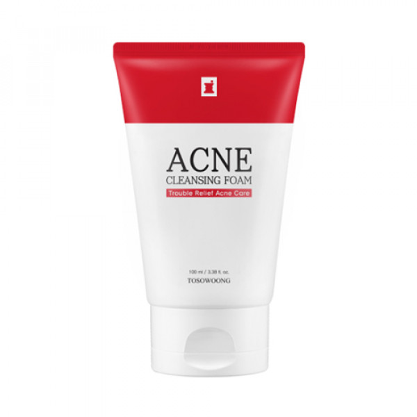 [TOSOWOONG] Acne Cleansing Foam - 100ml (New)