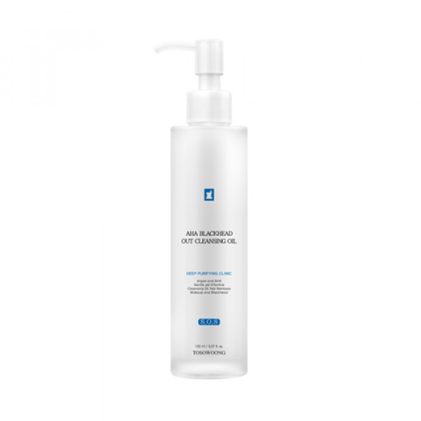 [TOSOWOONG] AHA Blackhead Out Cleansing Oil - 150ml