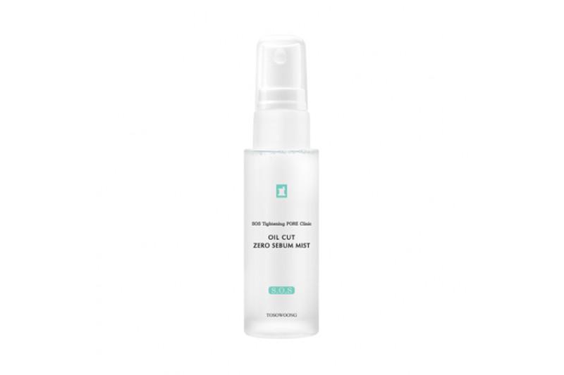 W-[TOSOWOONG] SOS Tightening Pore Clinic Oil Cut Zero Sebum Mist - 47ml x 10ea