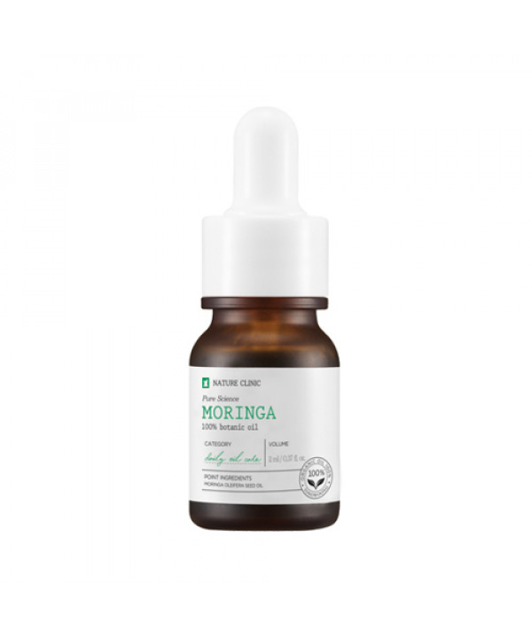 [TOSOWOONG_LIMITED] Pure Science Moringa Oil - 11ml (EXP 2021.10.30)