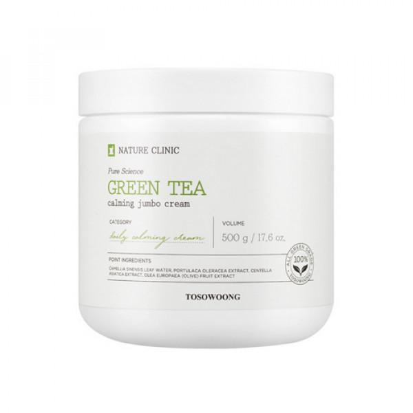 [TOSOWOONG] Green Tea Calming Jumbo Cream - 500g