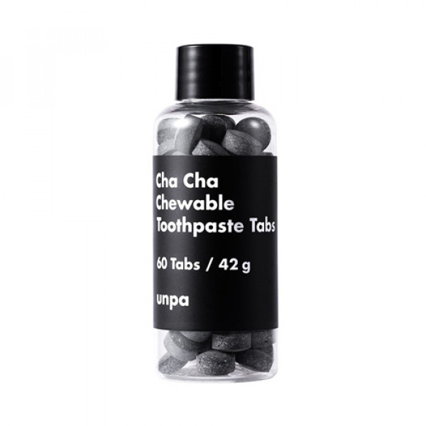 [UNPA] Cha Cha Chewable Toothpaste Tabs - 1pack (60pcs)