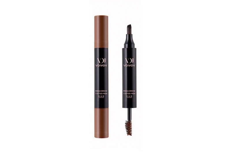 [VDIVOV] Mega Brow Tinted Pen Duo - 6.5g (Tint Pen 2.5g + Brow Mascara 4g)