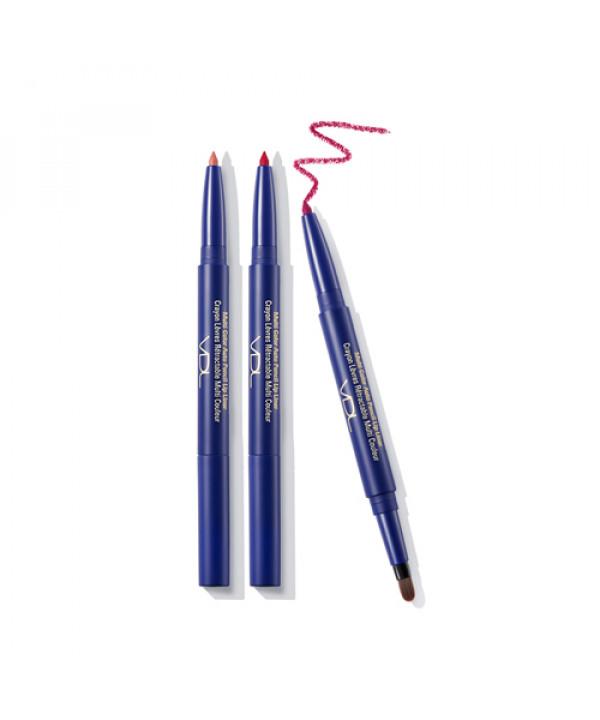 [VDL] Multi Color Auto Pencile Lip Liner - 0.2g