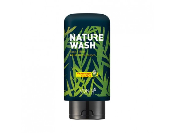 [VONIN] Nature Wash Face & Body All In One Cleanser - 300ml