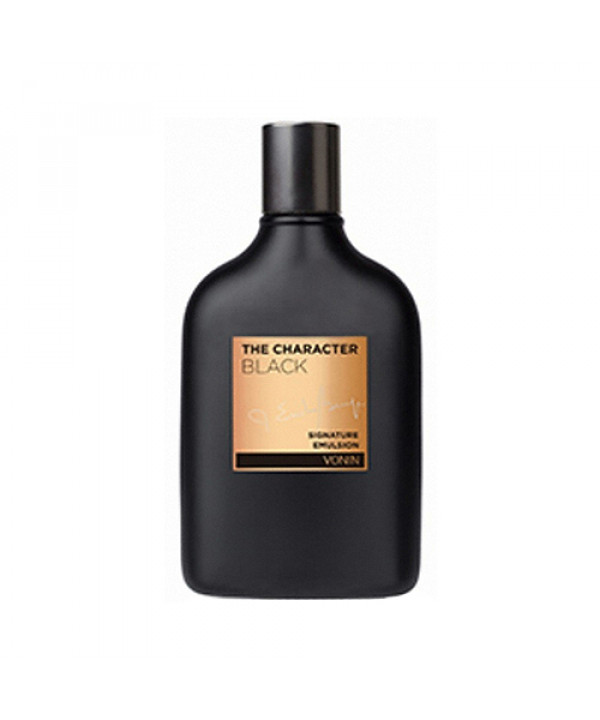 [VONIN] The Character Black Signature Emulsion - 140ml