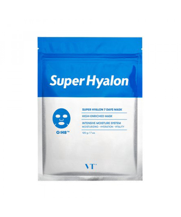 [VT] Super Hyalon 7 Days Mask - 1pack (7pcs)