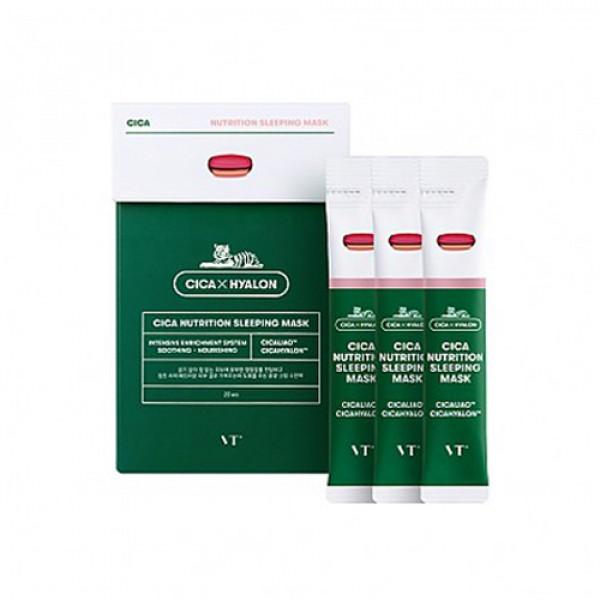 [VT] Cica Nutrition Sleeping Mask - 1pack (20pcs)