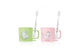 [VT_LIMITED] Think Your Teeth Toothbrush Cup Set (Moomin) - 1pcs