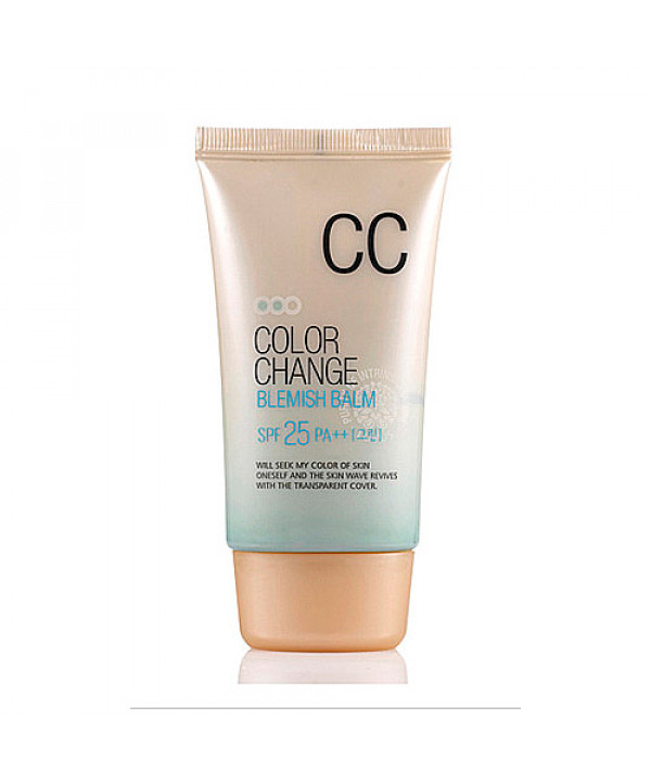 [WELCOS KWAILNARA] Color Change Blemish Balm - 50ml (SPF25 PA++) No.Green