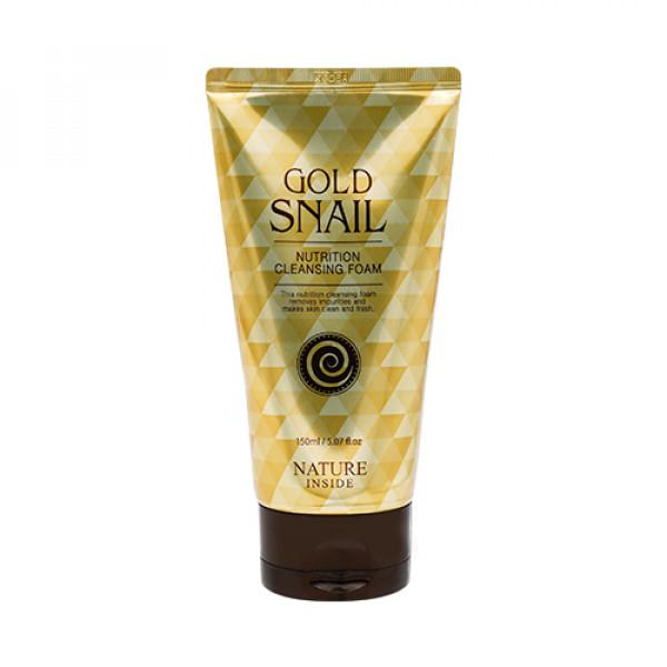 [WELCOS KWAILNARA] Gold Snail Nutrition Cleansing Foam - 150ml EXP 2022.11.12