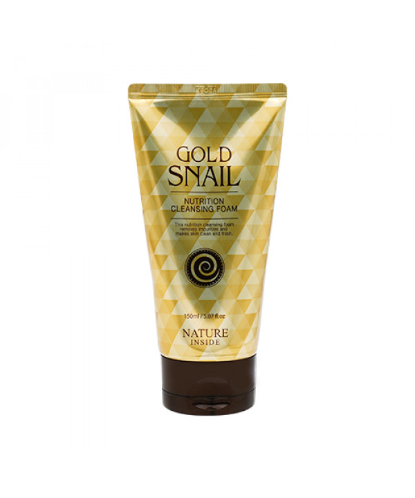 [WELCOS KWAILNARA] Gold Snail Nutrition Cleansing Foam - 150ml