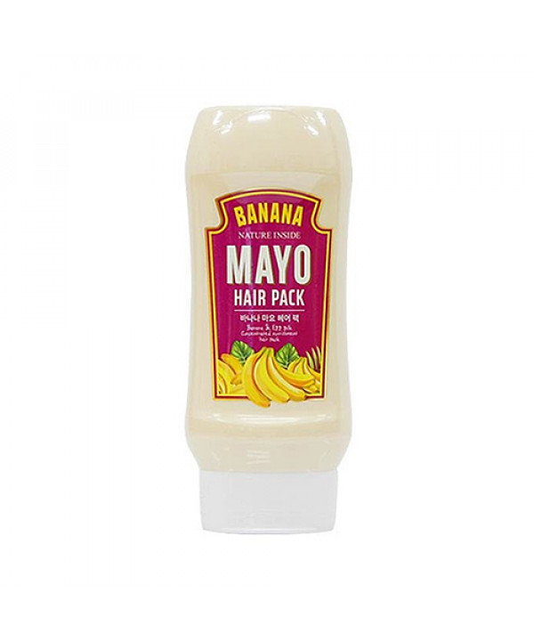 [WELCOS KWAILNARA] Banana Mayo Hair Pack - 250ml