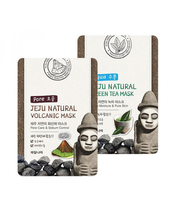 [WELCOS KWAILNARA] Jeju Natural Mask - 10pcs