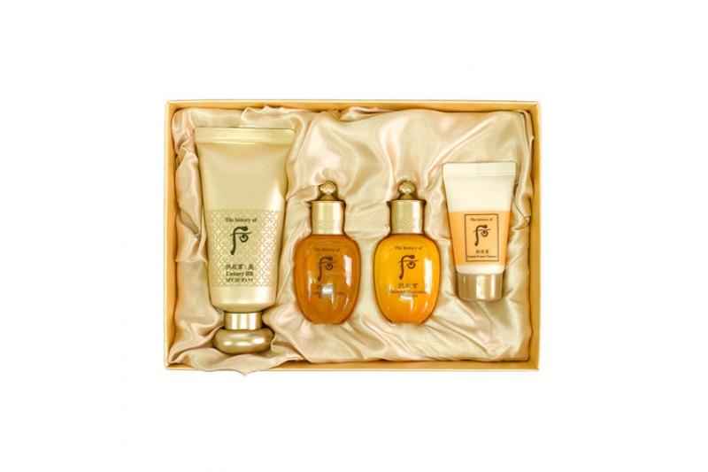 [THE WHOO] Gongjinhyang Mi Luxury BB Cream Special Set - 1pack (4items)