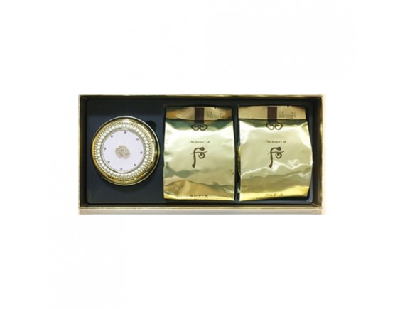 [THE WHOO] Gongjinhyang Mi Luxury Golden Cushion - 1pack (15g+Refill 2pcs) No.21
