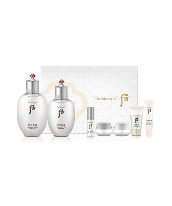 [THE WHOO] Gongjinhyang Seol Radiant White 2 Step Special Set - 1pack (7items)