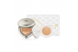 [THE WHOO] Gongjinhyang Seol White Moisture Cushion Foundation Set - 1pack (3items) No.21