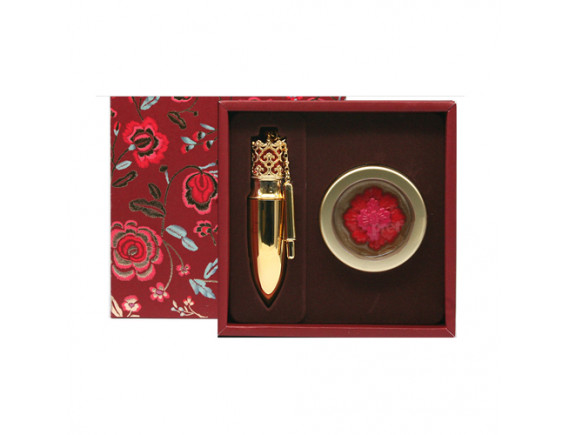 [THE WHOO] Gongjinhyang Mi Luxury Lip Rouge Special Set - 1pack (2items) No.88