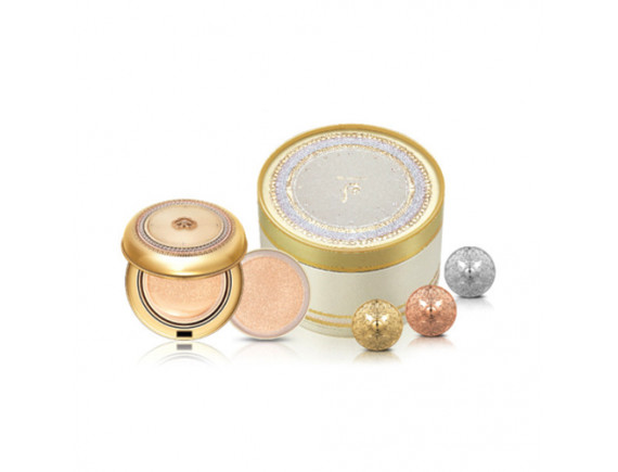 [THE WHOO] Gongjinhyang Mi Luxury Golden Cushion Special Edition - 1pack (5items)