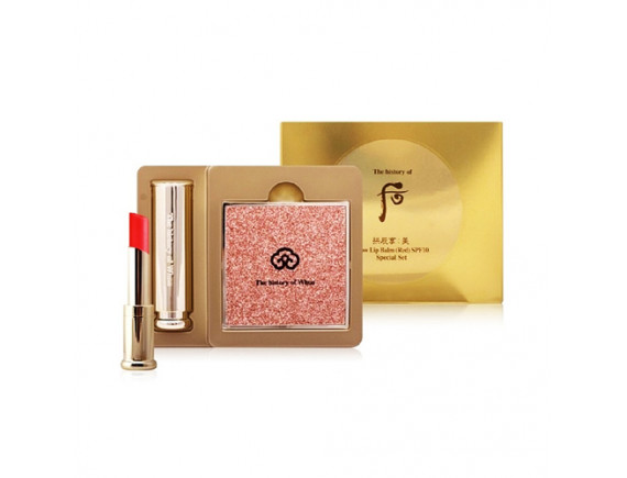 [THE WHOO] Gongjinhyang Mi Glow Lip Balm Special Set - 1pack (2items) No.Red