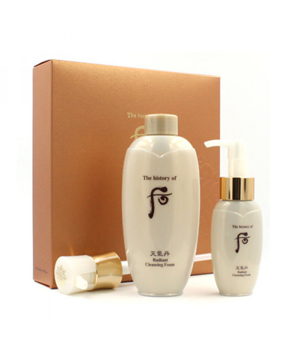 [THE WHOO] Cheongidan Hwa Hyun Cleansing Foam Special Set - 1pack (2items)