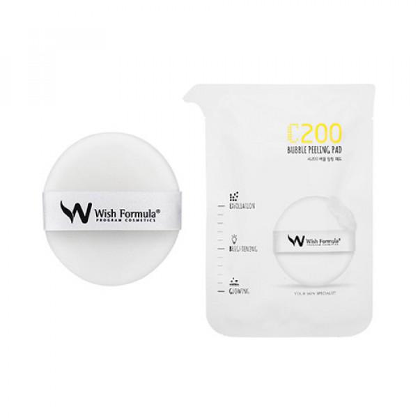 W-[Wish Formula] C200 Bubble Peeling Pad - 1pack (4pcs) x 10ea