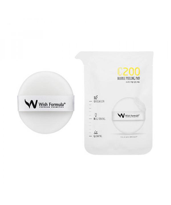 [Wish Formula] C200 Bubble Peeling Pad - 1pack (4pcs)