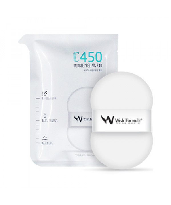 W-[Wish Formula] C450 Bubble Peeling Pad - 1pack (4pcs) x 10ea