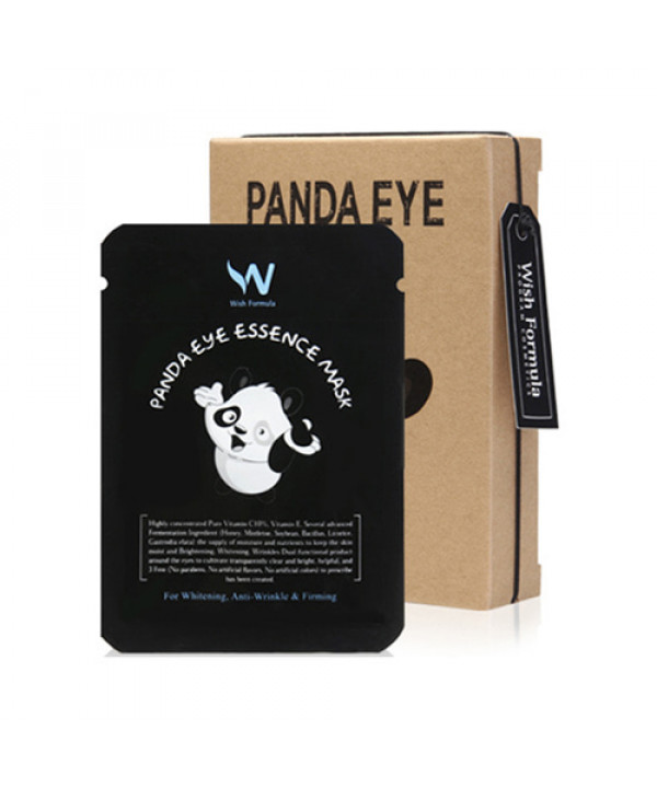 W-[Wish Formula] Panda Eye Essence Mask - 1pack (10pcs) x 10ea