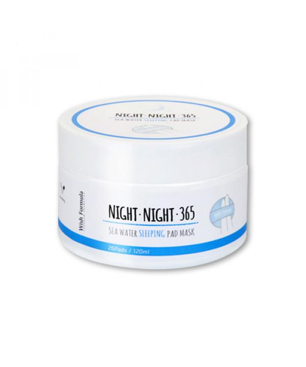 W-[Wish Formula] Night Night 365 Sea Water Sleeping Pad Mask - 1pack (26pcs) x 10ea