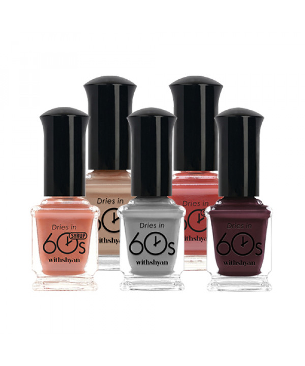 [Withshyan] 60 Seconds Nail Polish (Glossy) - 9ml