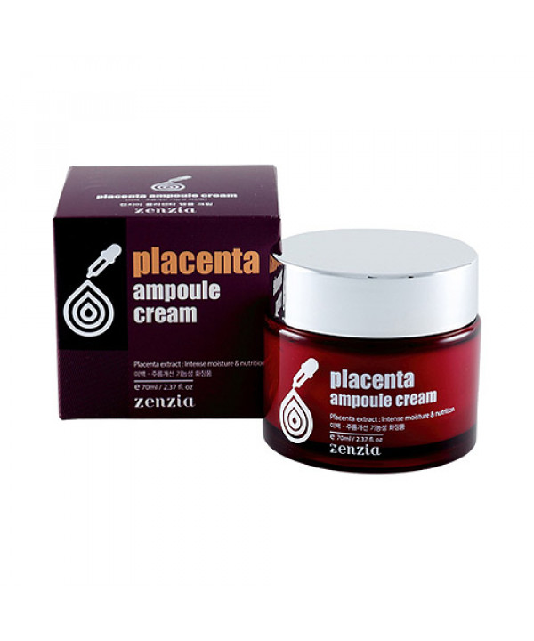 [ZENZIA] Placenta Ampoule Cream - 70ml