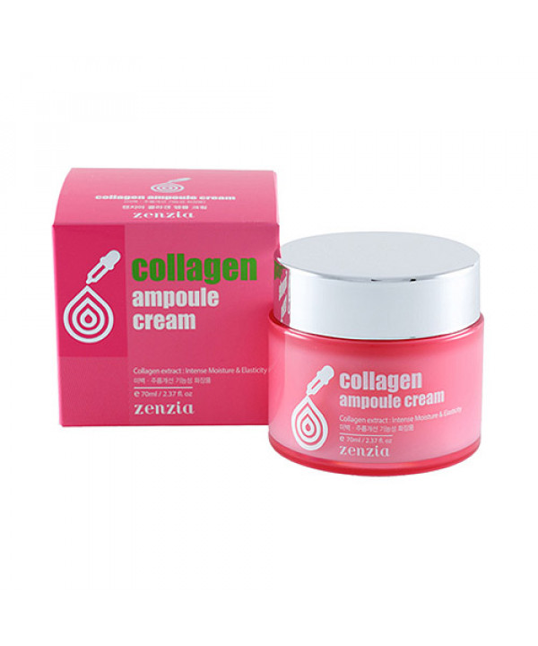 [ZENZIA] Collagen Ampoule Cream - 70ml
