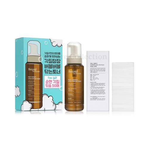 W-[BEYOND THE REMEDY] Root Therapy Lotus Vinegar Toner Set - 1pack (2items) x 10ea